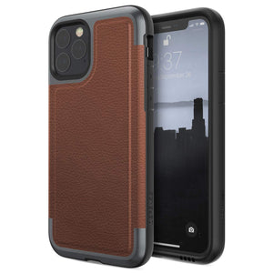 X-Doria Defense Prime Military Grade Drop Tested Anodized Aluminum Luxurious Leather Case Cover