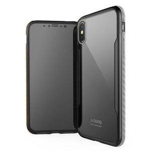 X-Doria Fense Acrylic Back Glass Polycarbonate Protective Case for Apple iPhone XS/X