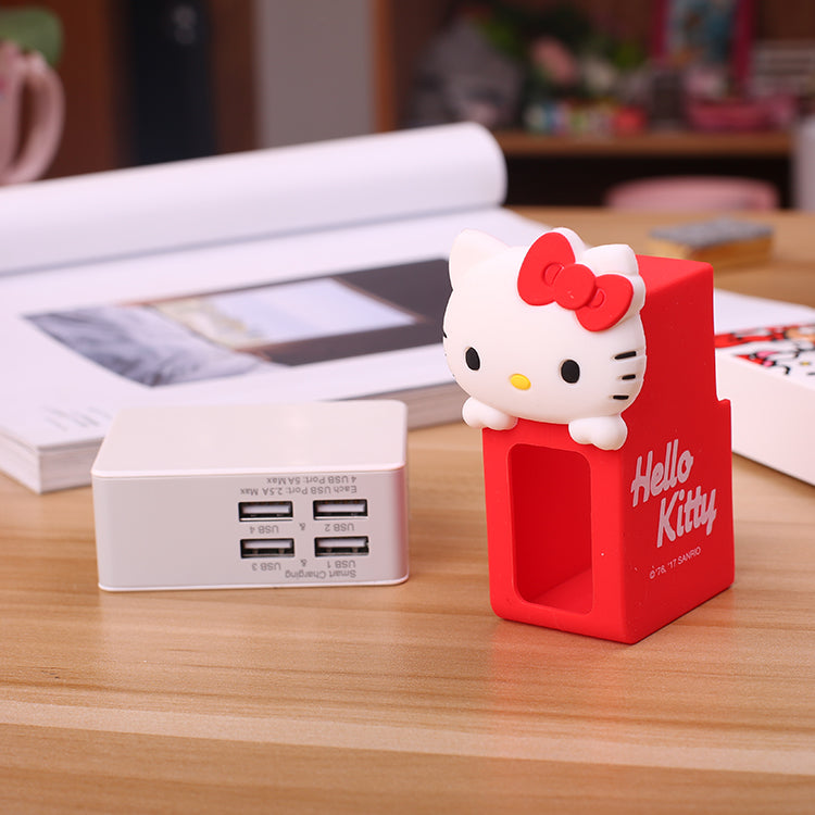 X-Doria Hello Kitty Beauty Series 4-Port USB Charger