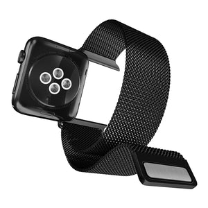 X-Doria Mesh Band Metal Loop Stainless Steel WatchBand for 44mm/40mm/42mm/38mm Apple Watch