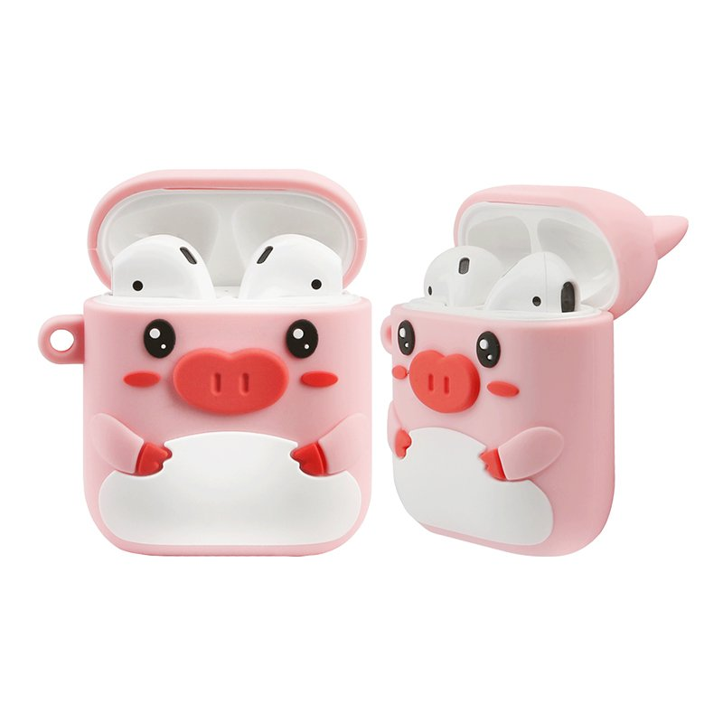 X-Doria Riki Piggy Shockproof Apple AirPods 2&1 Charging Case Cover