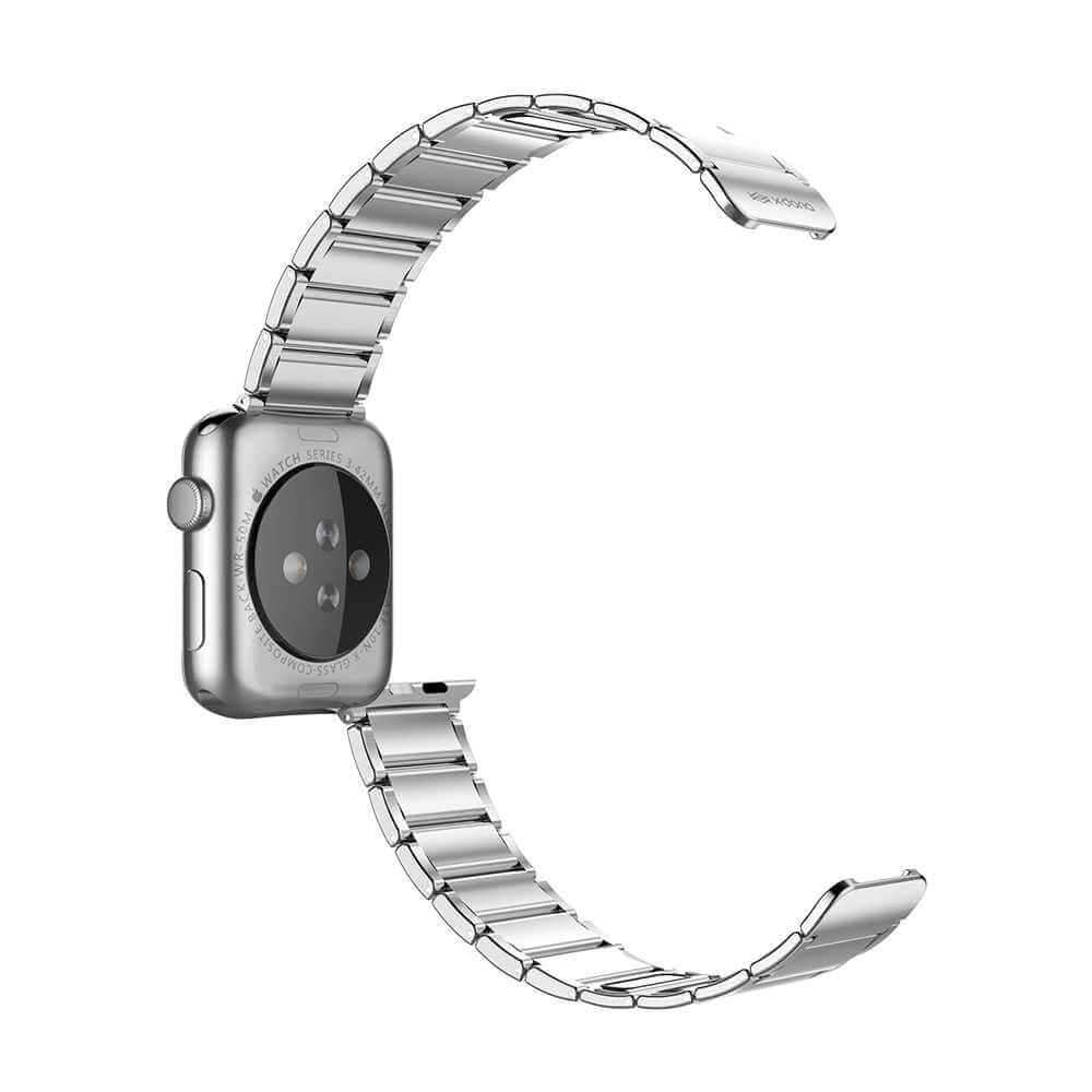 X-Doria Classic Band Magnetic Closure Stainless Steel WatchBand for 44mm/40mm/42mm/38mm Apple Watch