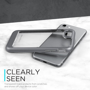 X-Doria EverVue Clear Impact Resistant Case for Apple iPhone 8 Plus/7 Plus/7