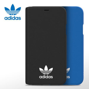 adidas Originals Classic TPU Booklet Folio Leather Case Cover - Armor King Case