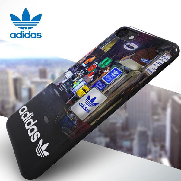 super popolare 4e626 815d2 adidas Originals MENS Graphic TPU Back Case Cover for Apple iPhone 8  Plus/8/7 Plus/7/6S Plus/6