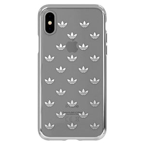 adidas Originals Metallic Electroplating TPU Trefoil Clear Case Cover