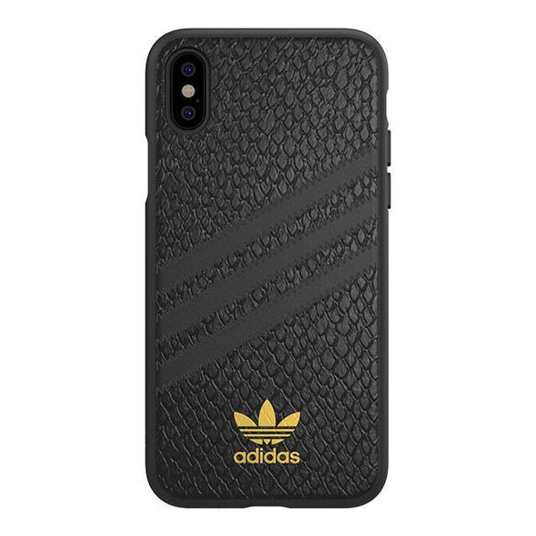 adidas Originals Samba Rose 3-Stripes Snap Case Snake Moulded Case for Apple iPhone
