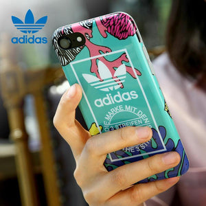 adidas Originals Graphic TPU Back Case Cover for Apple iPhone