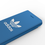 adidas Originals TPU Booklet Case Cover for Apple iPhone SE (2020) & 8/7 - Blue
