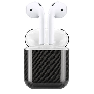 Oatsbasf Ultra Thin Pure Kevlar Carbon Fiber Apple AirPods Pro/2/1 Charging Case Cover