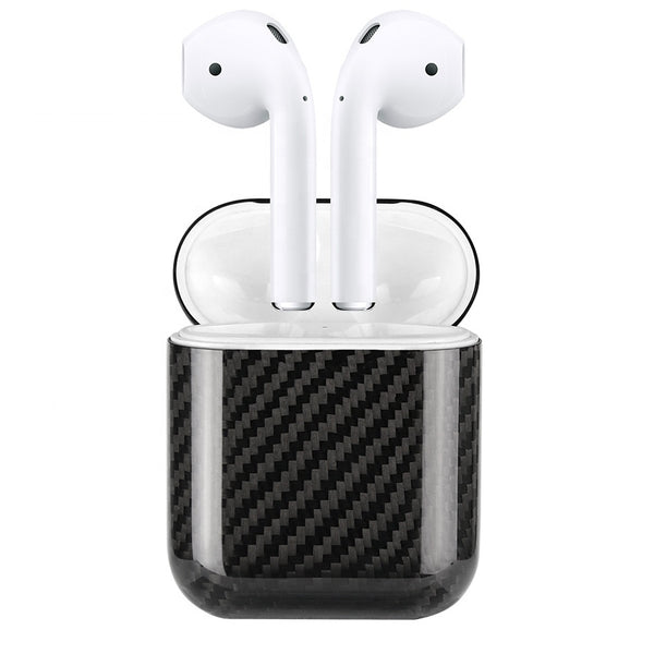 Oatsbasf Ultra Thin Pure Kevlar Carbon Fiber Apple AirPods Charging Case Cover