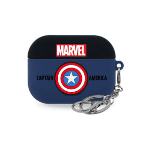 ASCAR Marvel Avengers Apple AirPods Pro Silicone Hang Case with Portable Holder