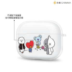 GARMMA BT21 UNIVERSTAR Soft TPU Apple AirPods Pro Charging Case Cover