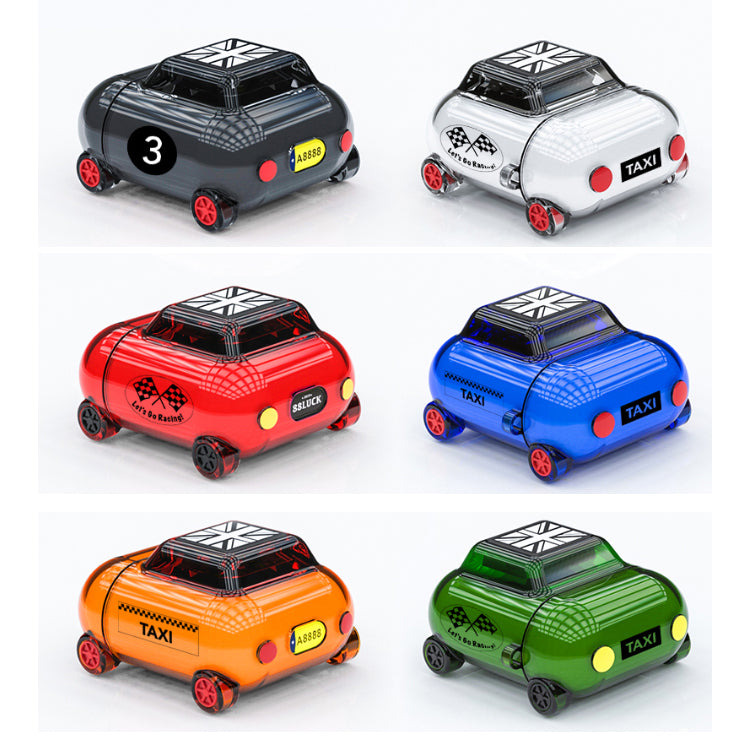 R-Just DIY Mini Car Ultra Thin Soft TPU Apple AirPods 2&1 Case Cover