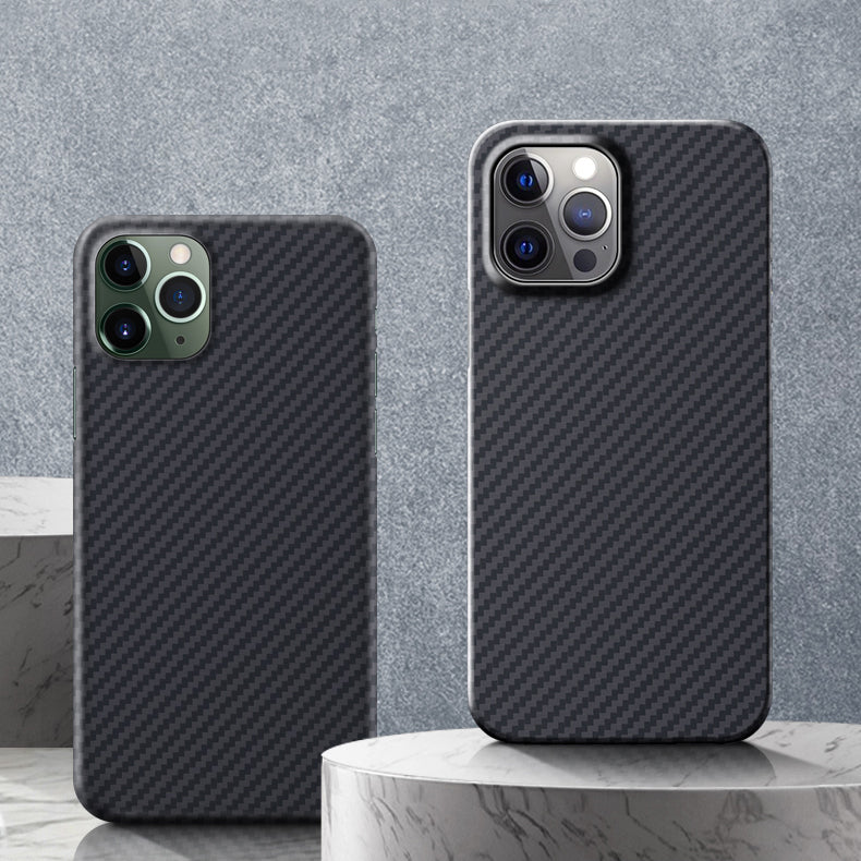 Oatsbasf Ultra Thin Luxury Pure Kevlar Carbon Fiber Case Cover