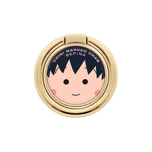 GARMMA Chibi Maruko-chan 360° Rotating Anti-drop Ring Stand Finger Grip Phone Holder