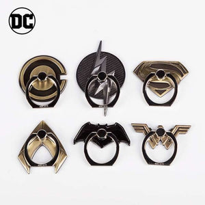 DC Justice League 360° Rotating Anti-drop Full Metal Finger Ring Grip Phone Holder