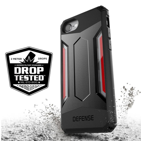 X-Doria Defense Gear Military Grade Drop Tested Anodized Metal Case Cover