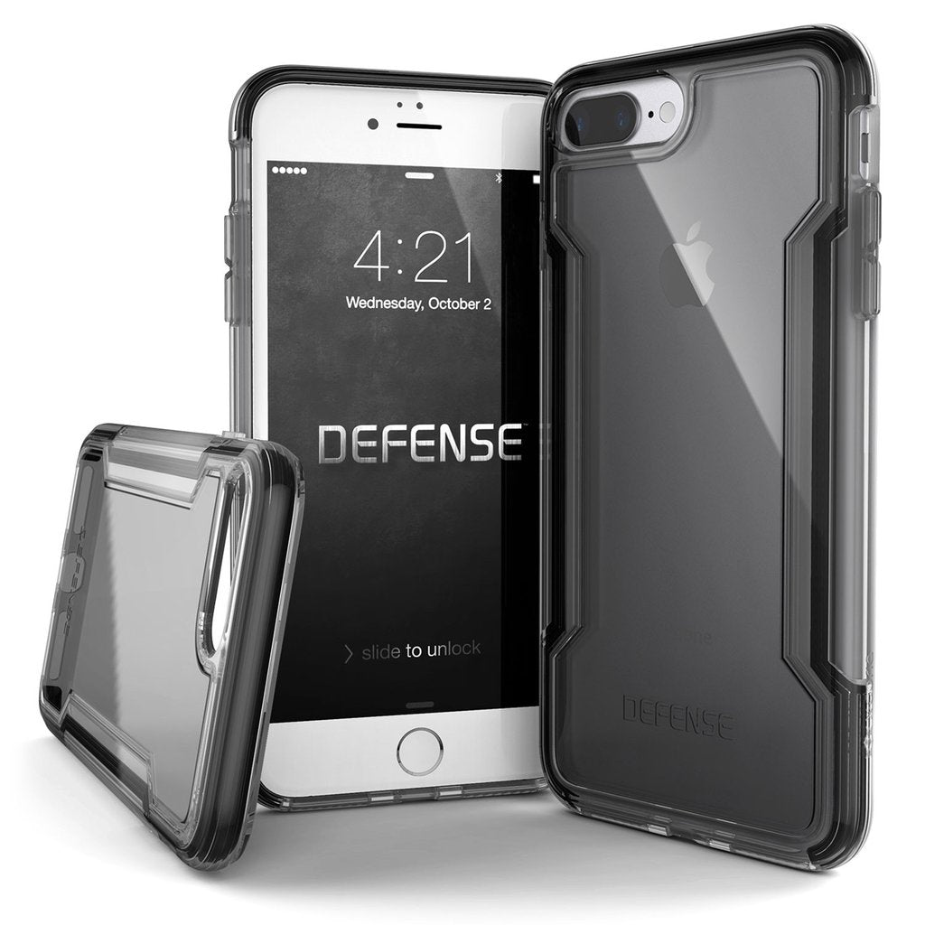 X-Doria Defense Clear Military Grade Triple Layer Drop Protection Case Cover