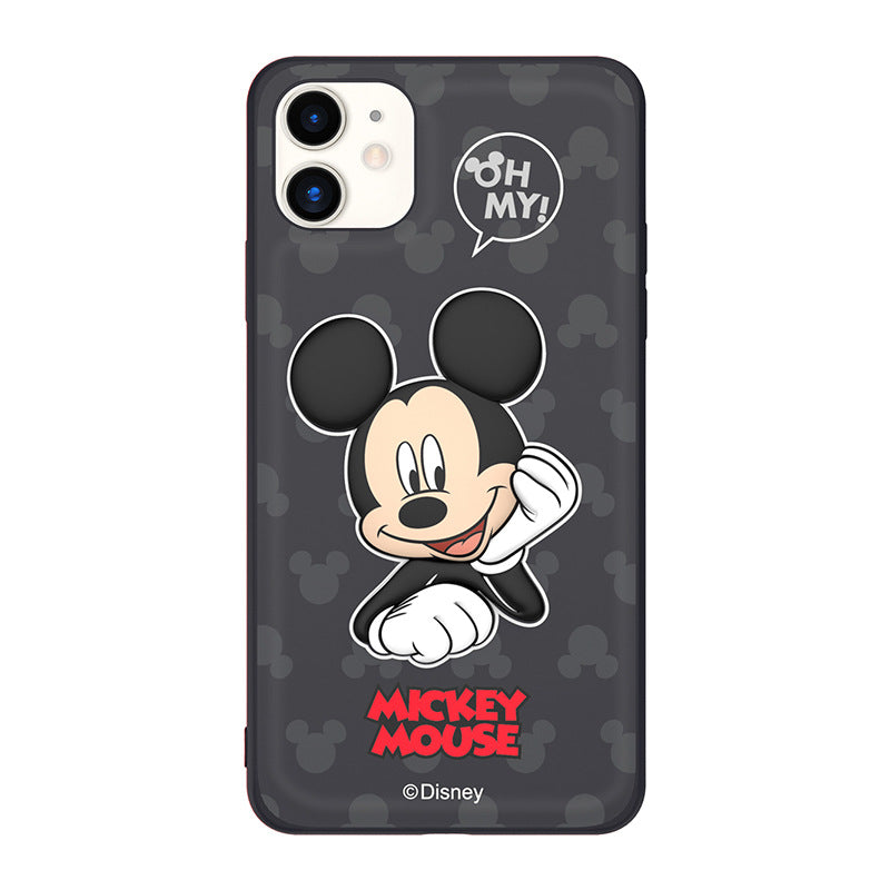 UKA Disney Cute 3D PU Leather Case Cover
