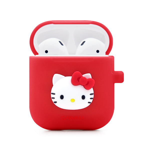 5a71e3ba9600 GARMMA Hello Kitty Shockproof Apple AirPods Charging Case Cover ...