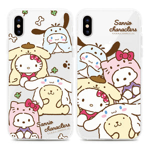 Character Transparent Soft TPU cases
