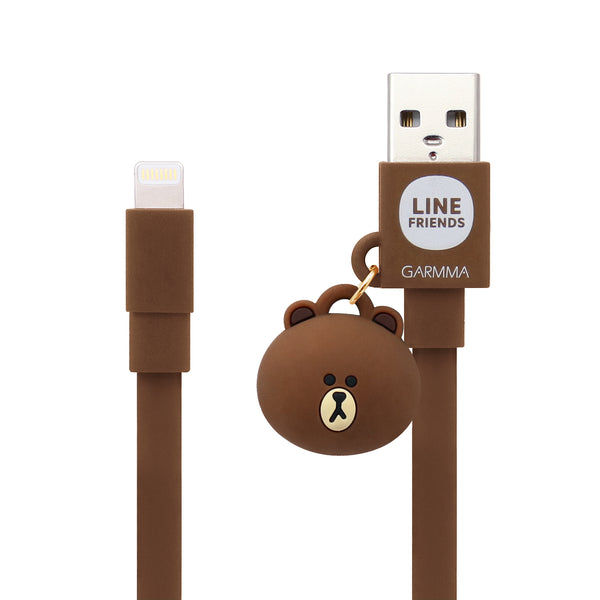 GARMMA Hello Kitty & Line Friends 1.2M Doll Dangler MFI Lightning Cable for Apple iPhone iPad iPod