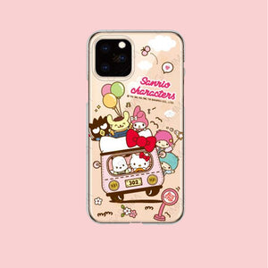 GARMMA Sanrio Characters Air Cushion Soft Back Case Cover for Apple iPhone