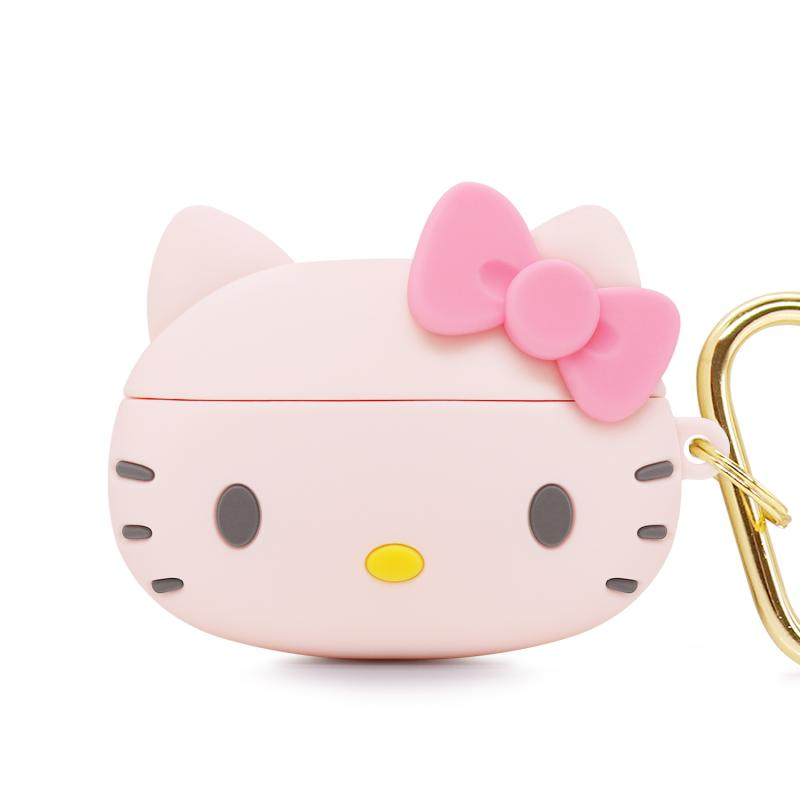 GARMMA Hello Kitty Shockproof Apple AirPods Pro Charging Case Cover with Carabiner Clip
