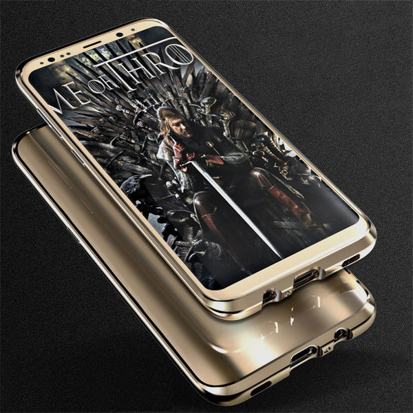 GINMIC Sword Slim Light Aluminum Metal Bumper Scratch Resistant Dazzle PC Cover Case