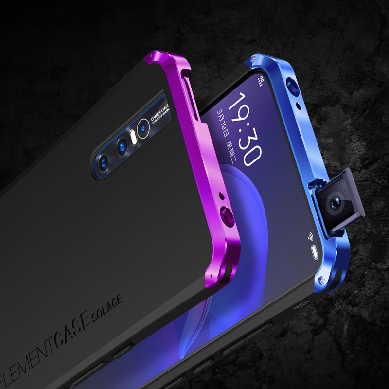 GINMIC Solace Aluminum Metal Frame Hard PC Back Cover Case