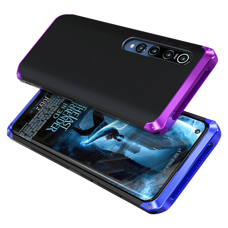 GINMIC Shield Aluminum Metal Frame Hard PC Back Cover Case
