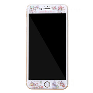 GOMO Little Twin Stars Tempered Glass Screen Protector for Apple iPhone 8 Plus/7/6S