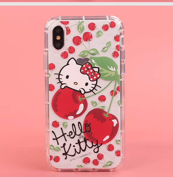 best service 34a23 8d254 gourmandise Hello Kitty & My Melody & Little Twin Stars Shockproof Cover  Case for Apple iPhone X