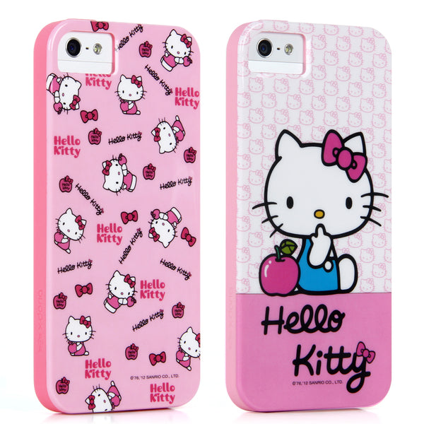 X-Doria Hello Kitty & My Melody & Little Twin Stars Back Cover Case for Apple iPhone SE/5S/5