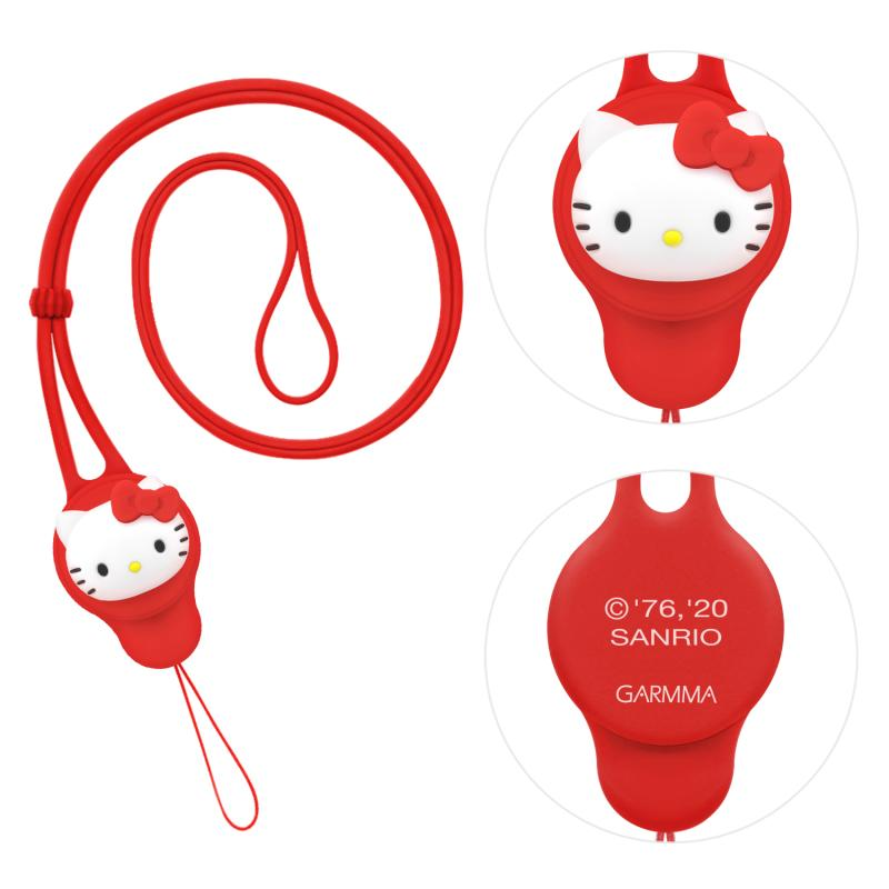 GARMMA Hello Kitty Anti-lost Silicone Strap Universal Removable Lanyard
