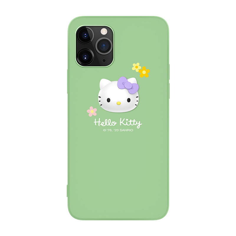 UKA Hello Kitty 3D Avatar Liquid Silicone Case Cover