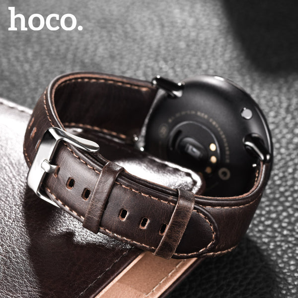 HOCO Genuine Leather Classic Buckle Watch Band for Samsung Gear S3 classic & Gear S3 frontier