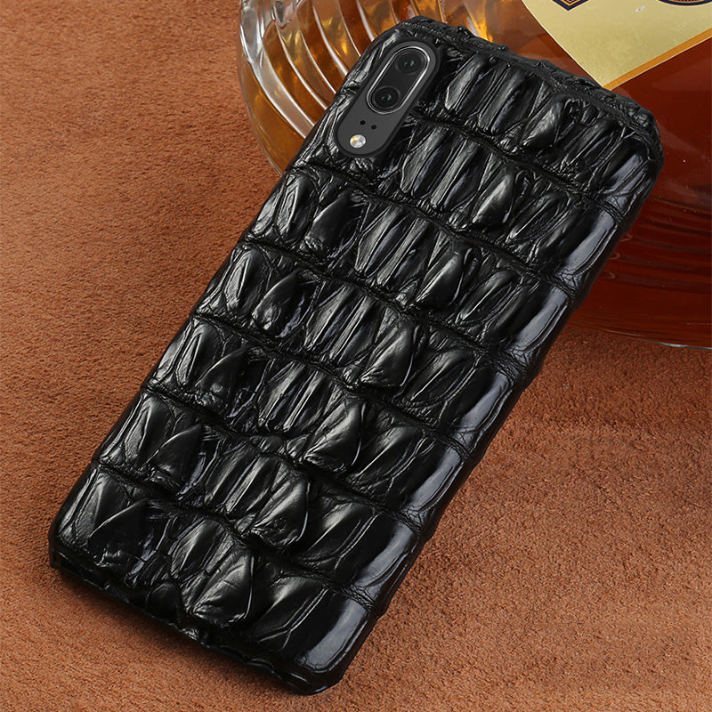 i-idea Handmade Luxury Genuine Real Crocodile Skin Leather Case Cover for OPPO & vivo