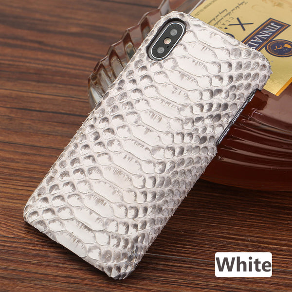 i-idea Handmade Luxury Genuine Real Python Snake Skin Leather Case Cove