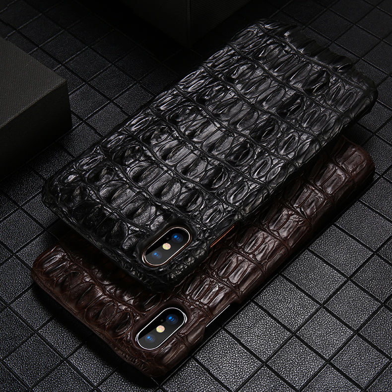 i-idea Handmade Luxury Crocodile Skin Genuine Leather Case Cover