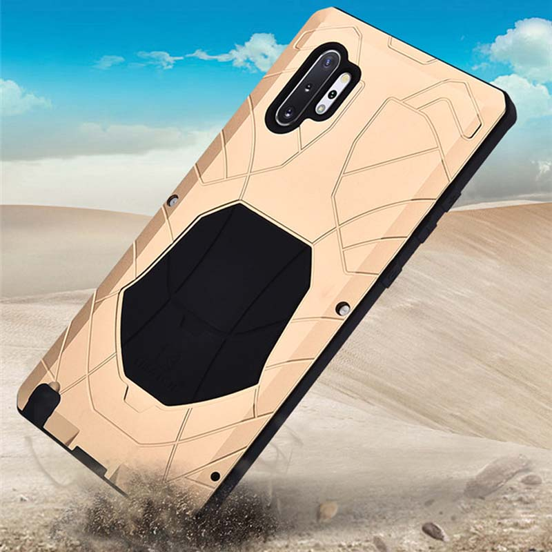 iMatch Water Resistant Shockproof Outdoor Military Heavy Duty Metal Case Cover