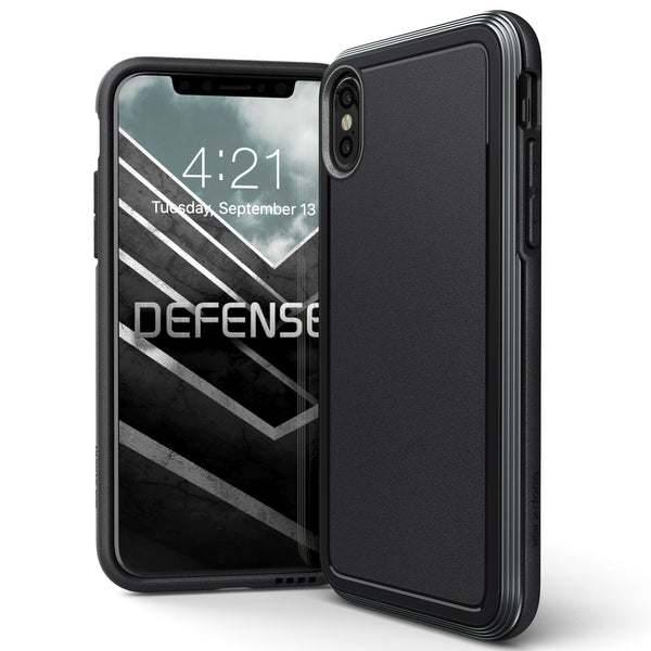 X-Doria Defense Ultra Military Grade Tested Aluminum Metal Protective Case for Apple iPhone iPhone XS/X