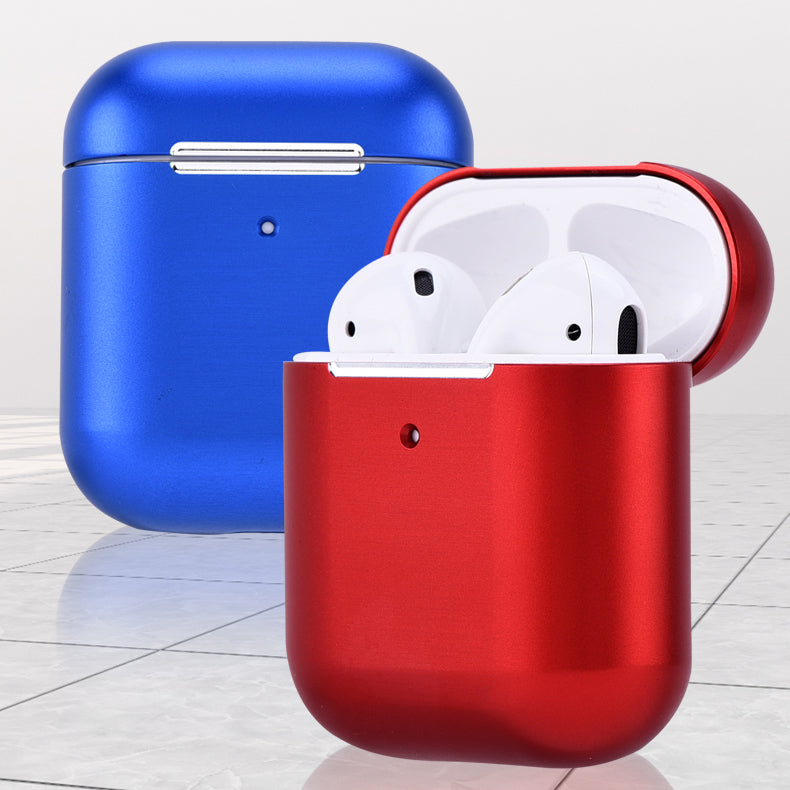 iMatch Aluminum Metal Shockproof Apple AirPods 2&1 Charging Case Cover