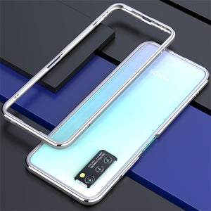 iy Bicolor Aurora Sword Slim Light Aluminum Bumper Metal Case Cover
