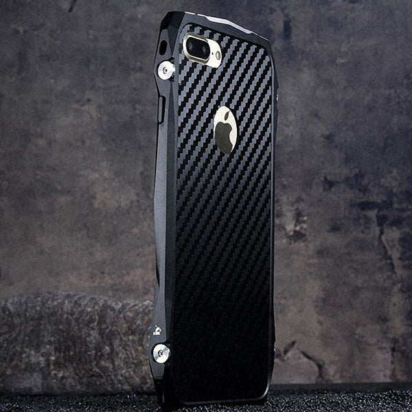 iy Batmobile Sports Cars Aluminum Metal Bumper Carbon Fiber Back Cover Case - Armor King Case