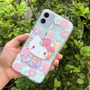 Sanrio Hello Kitty & My Melody & Little Twin Stars Shockproof Air Bag Soft Back Case Cover
