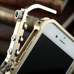 KANENG Mechanical Arm Trigger Aluminum Metal Bumper Case
