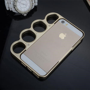 KANENG The Lord of the Rings Aluminium Alloy Bumper Finger Boxing Glove Case Cover