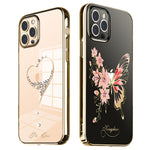 KINGXBAR Swarovski Crystal Clear Hard PC Case Cover for Apple iPhone 12 series